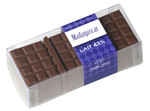 Mini-tablettes de chocolat au lait Madagascar 43 % cacao.